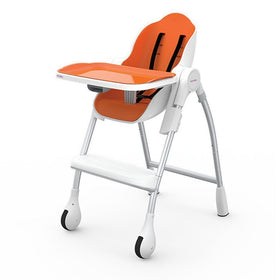 Oribel Cocoon Infant Feeding High Chair Orange-Baby Care-Babysupermarket