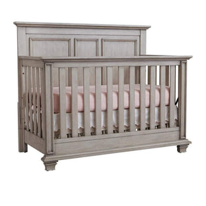 M Design Furniture Oxford Baby by M Design Kenilworth 4IN1 Convertible Crib Stone Wash