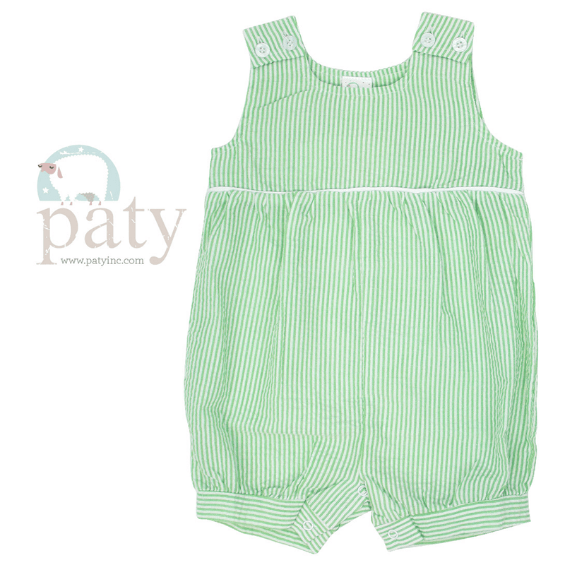 f6a0219036baa ... Paty Boys Apparel 9M / Green Paty Boys Seersucker Bubble with Piping