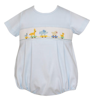 Petit Bebe Apparel 3 MO / Light Blue Petit Bebe Toy Parade Bubble