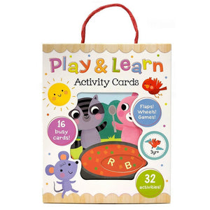Cottage Door Press Gifts & Apparel Play & Learn Activity Cards for Toddler