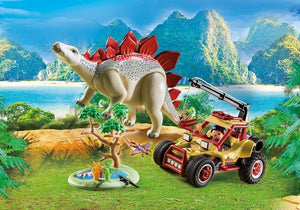 Playmobil Toys Playmobil Explorer Vehicle Stegosaurus