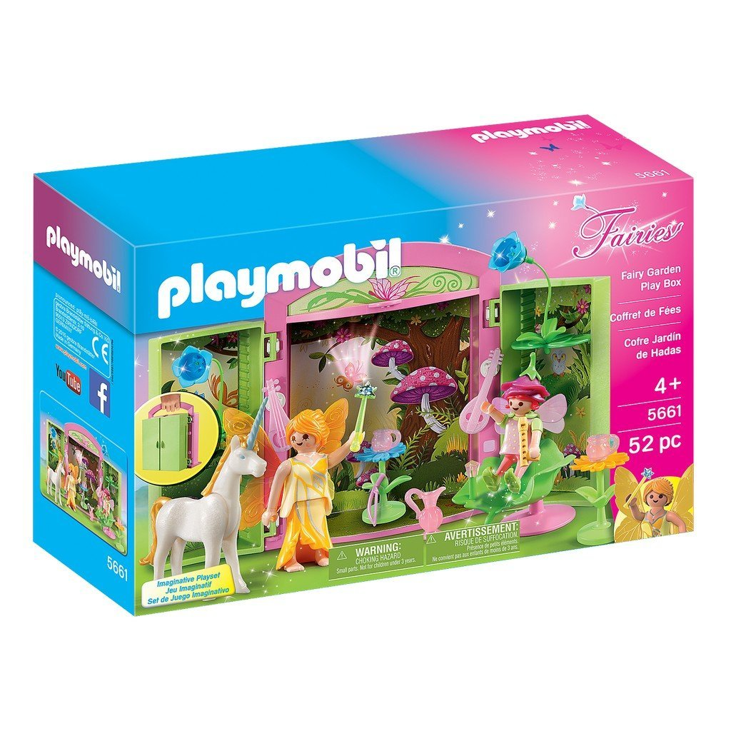 Playmobil Toys Playmobil Fairy Garden Play Box 5661