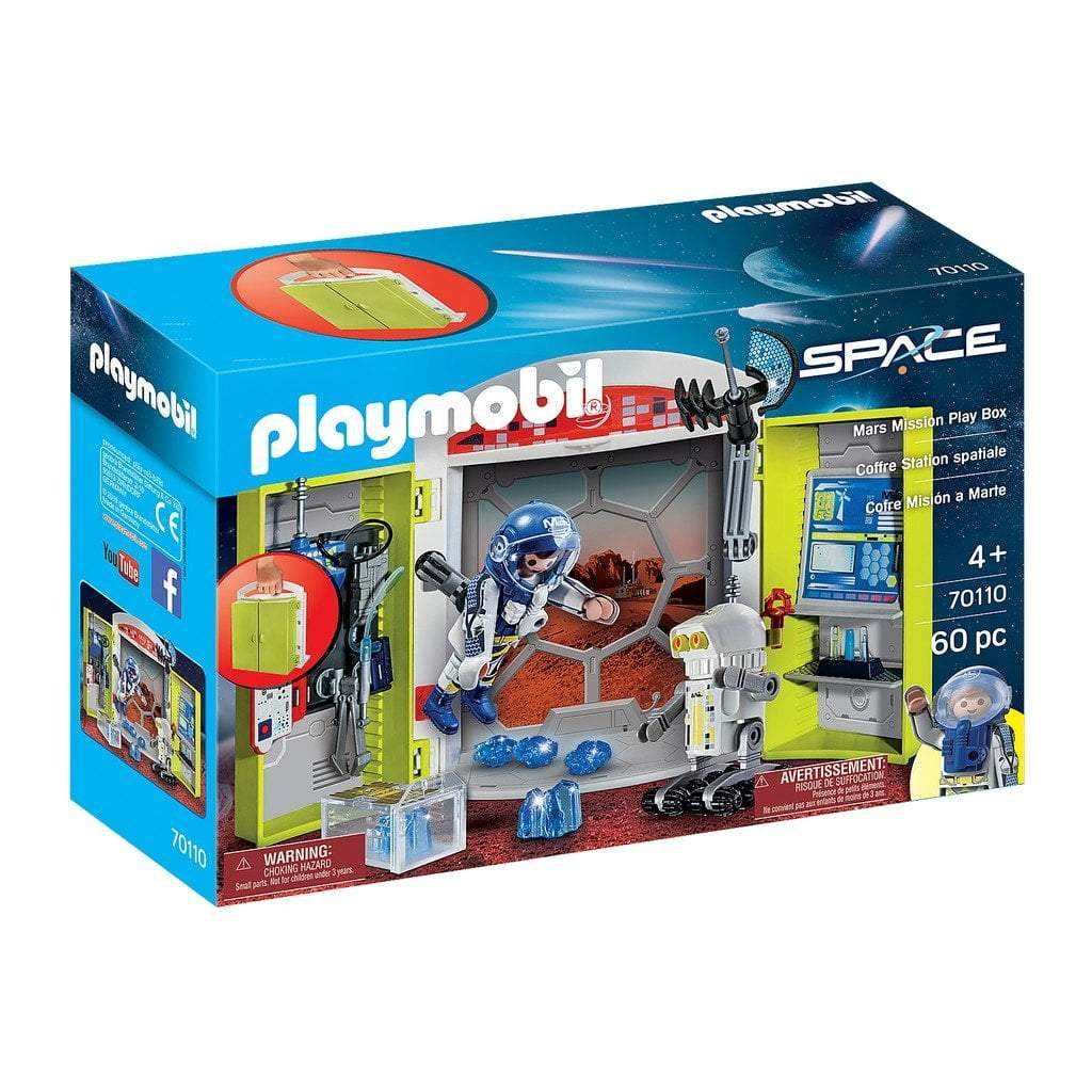 Playmobil Toys Playmobil Mars Mission Play Box 70110