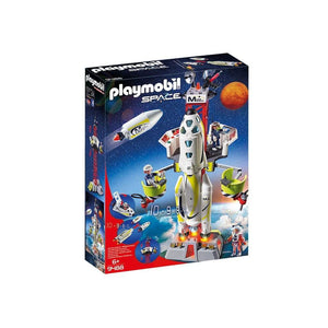Playmobil Toys Playmobil Mission Rocket with Launch Site 9488