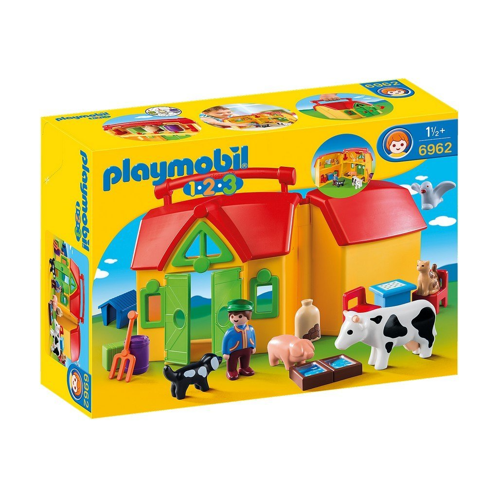 Playmobil Toys Playmobil My Take Along Farm 6962