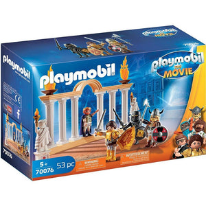 Playmobil Toys Playmobil The Movie Emperor Maximumus in the Colosseum 70076