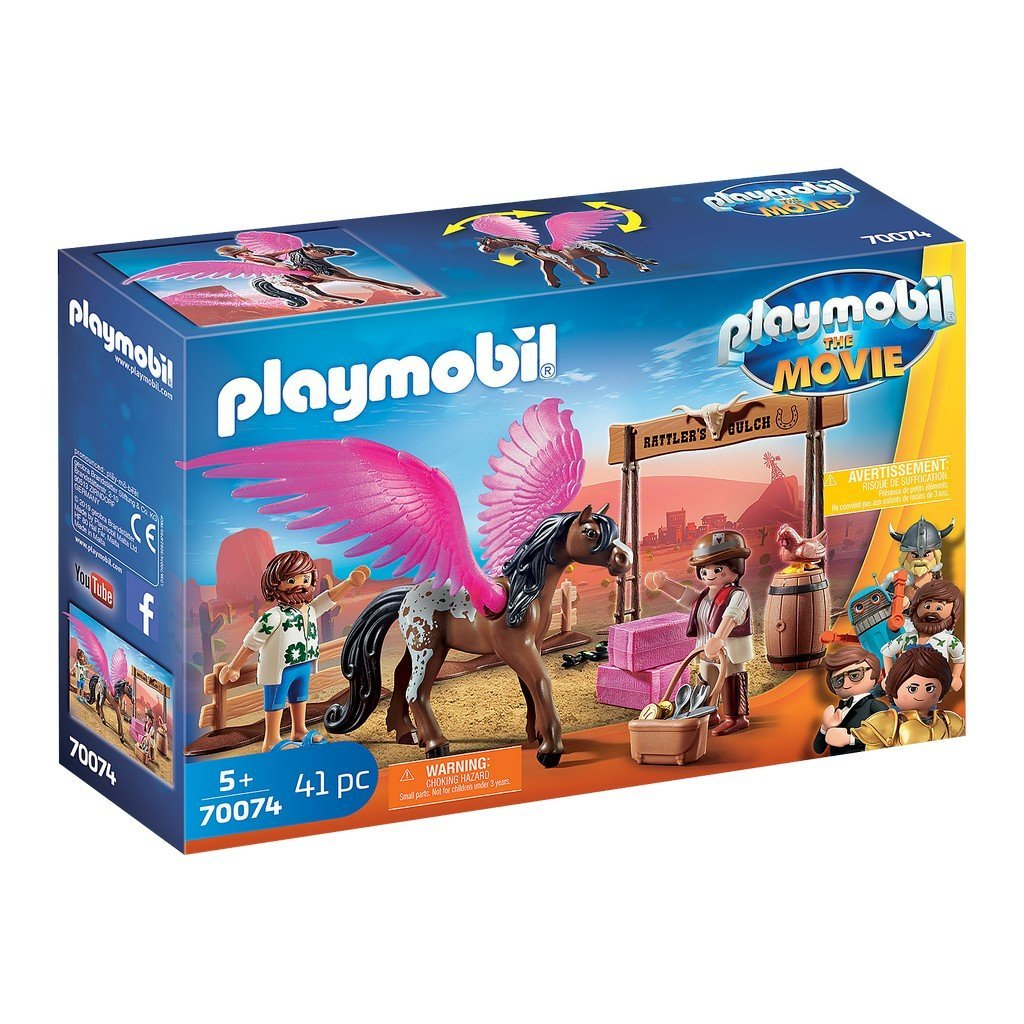Playmobil The Movie Marla and Del with Flying Horse 70074