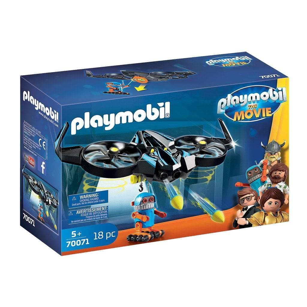 Playmobil Toys Playmobil The Movie Robotitron with Drone 70071