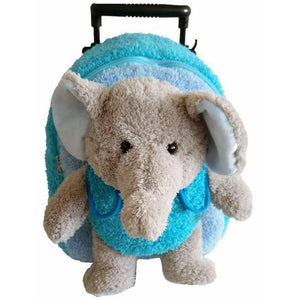 Posh Popatu Elephant Trolley Backpack-Toys-Babysupermarket