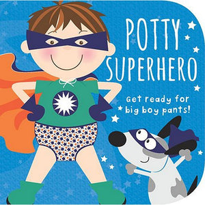 Cottage Door Press Gifts & Apparel Potty Superhero (Boy) Children's Board Book