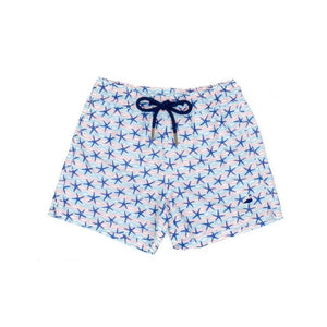 Properly Tied Apparel 5 / Starfish Properly Tied Little Ducklings Swim Trunk Starfish