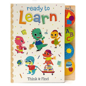 Cottage Door Press Gifts & Apparel Ready to Learn Think and Find Toddler's Book