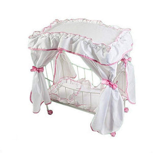Rosalina Dolls Dolls Rosalina Boutique Play Doll Canopy Bed