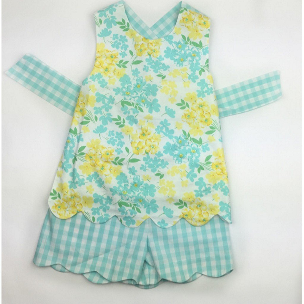 Sage & Lily Girls Apparel 2T Sage and Lily Girls Buttercup Apron Set
