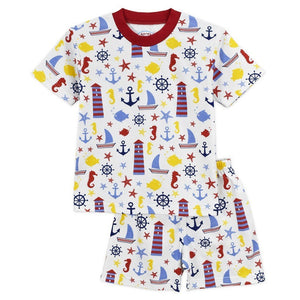 Sara's Prints Boy Sleepwear 2T Sara's Prints Boy Lighthouse Pajama Set