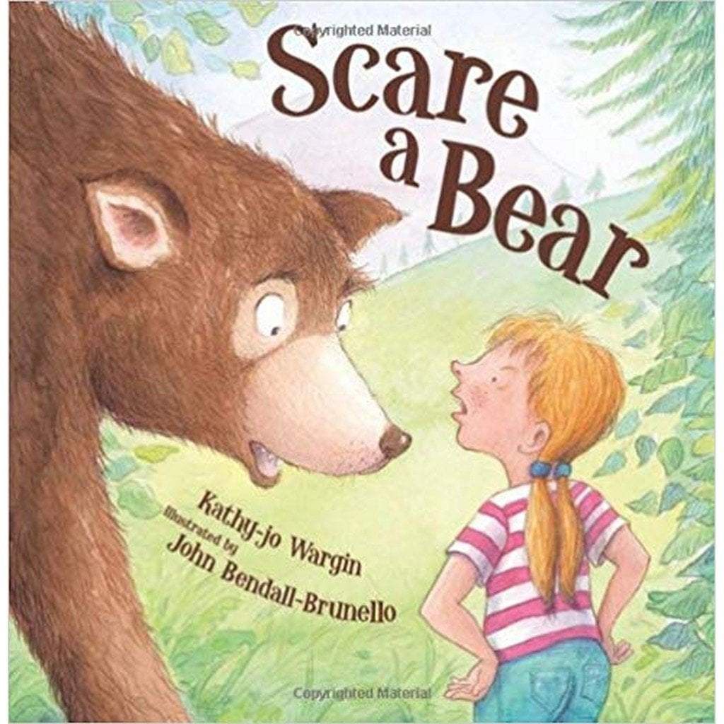 Cherry Lake Publishing Gifts & Apparel Scare A Bear Children's Hardcover Book by Kathy jo-Wargin