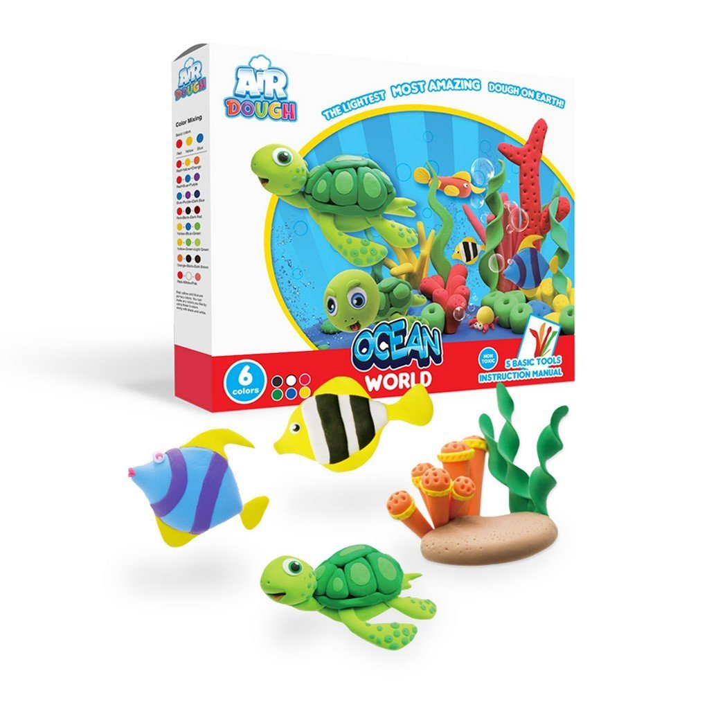 Scentco Toys Scentco Air Dough Ocean World Activity Set