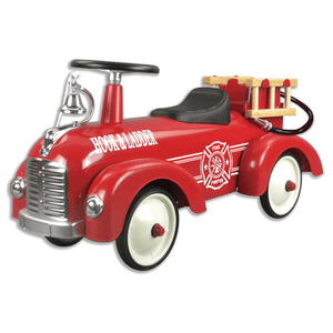Schylling Metal Speedster Fire Truck Ride On-Toys-Babysupermarket
