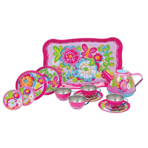 Schylling Toys Garden Party Tea Set-Toys-Babysupermarket