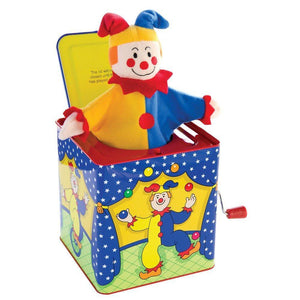 Schylling Toys Musical Jester in a Box-Toys-Babysupermarket