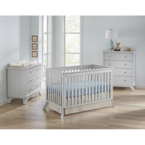 Sealy Bella Standard Crib Tranquility/ DecoGrey-Furniture-Babysupermarket