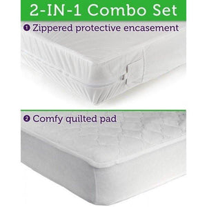 Sealy Ultimate Protection Encasement and Quilt Pad Combo-Furniture-Babysupermarket