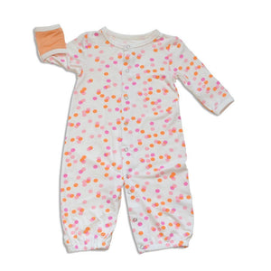 Silkberry Baby Gifts & Apparel Pink / Newborn Silkberry Baby Bamboo Converter Gown Confetti Sprinkles
