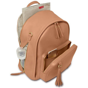 Skip Hop Greenwich Backpack Diaper Bag Caramel-Baby Gear-Babysupermarket