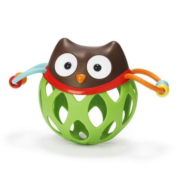 Skip Hop Roll Around Rattle Owl-Toys-Babysupermarket