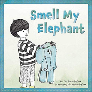 Cherry Lake Publishing Gifts & Apparel Smell My Elephant Children's Hardcover Book by Tina Ballon Debord