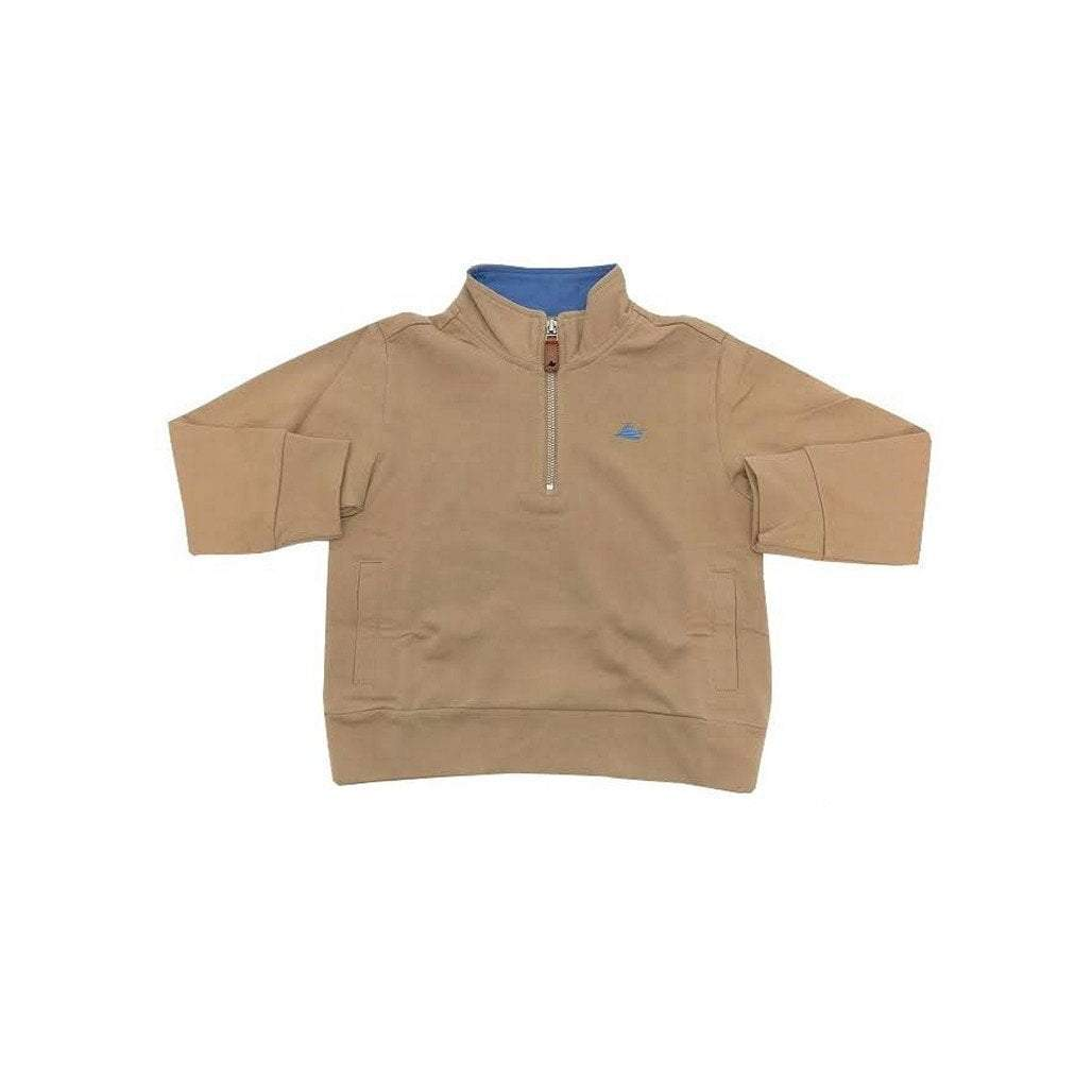 Southbound Boys Apparel Southbound Boy's 1/4 Zip Pullover Khaki