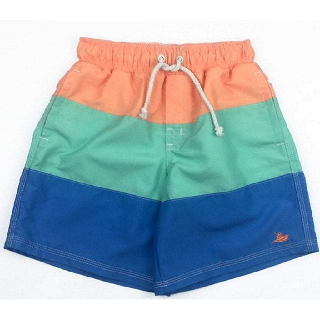 Southbound Swimwear 5 Southbound Boys Cantaloupe Combo Swim Trunks