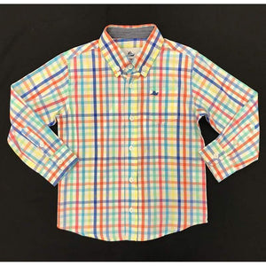 Southbound 5 Southbound Boys Dress Shirt Multi Plaid
