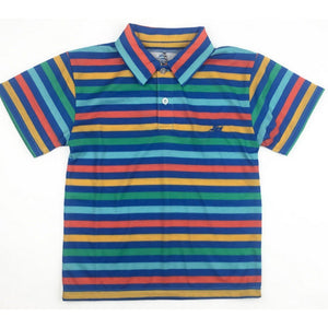 Southbound Boys Apparel 5 Southbound Boys Multi Stripe Polo Shirt