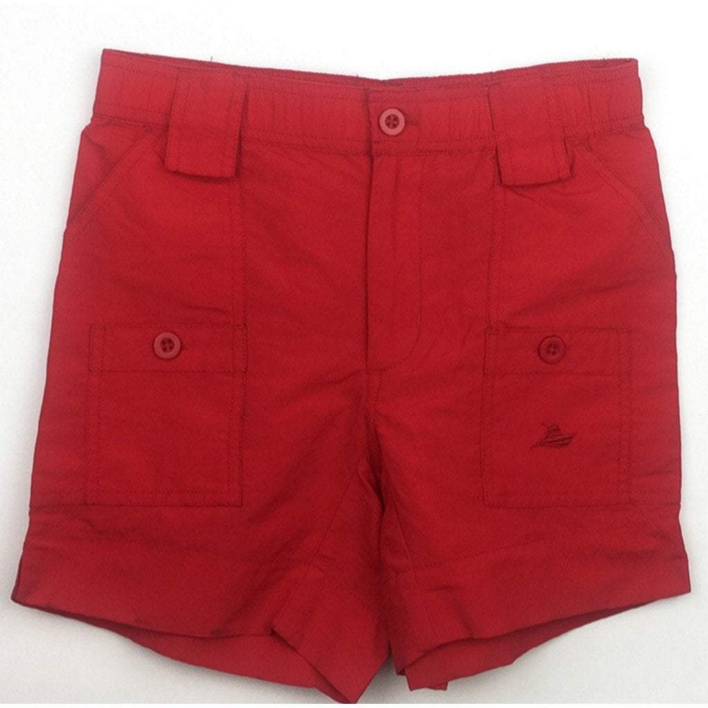 Southbound Boys Apparel 5 Southbound Boys Red Reef Shorts