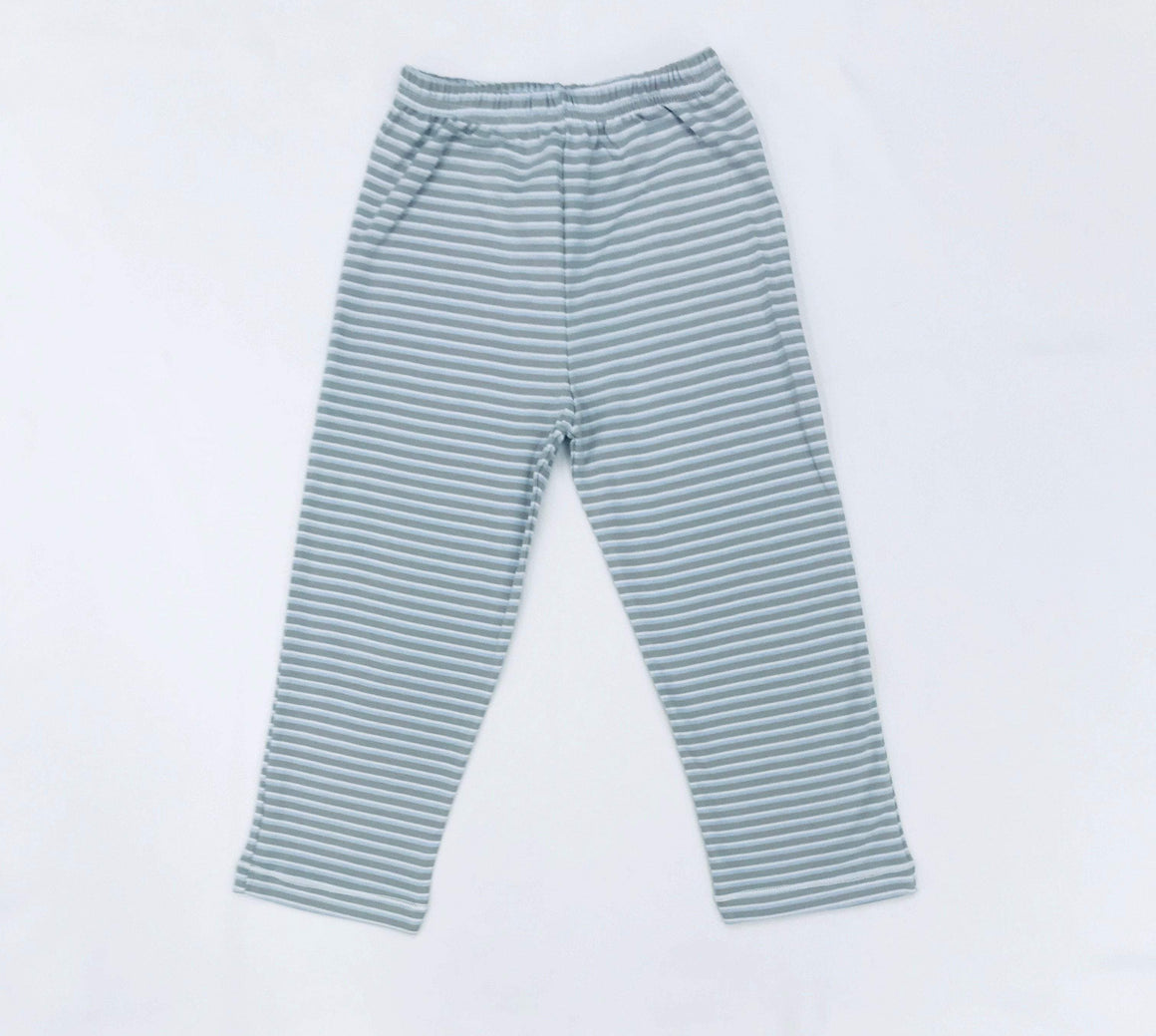 Squiggles by Charlie Boys Apparel Squiggles by Charlie Boys Blue Stripe Pima Cotton Pants