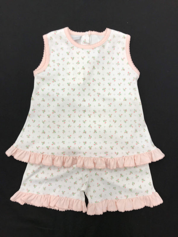 Squiggles By Charlie Mini Flower Short Set