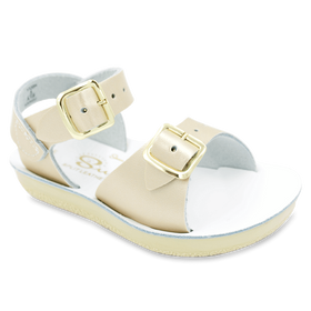 Hoy Shoes Shoes 5 / Gold Sun San Gold Surfer Sandals by Hoy Shoes