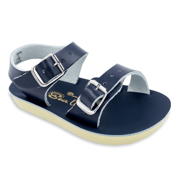 Hoy Shoes Shoes 2 / Navy Sun San Navy Sea Wee Sandals by Hoy Shoes