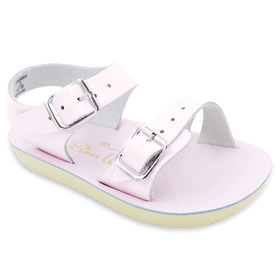 Hoy Shoes Shoes 1 / Pink Sun San Pink Sea Wee Sandals by Hoy Shoes