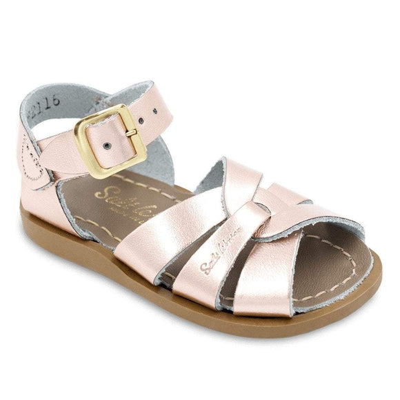 Hoy Shoes Shoes 4 / RoseGold Sun San Rose Gold Original Saltwater Sandals by Hoy Shoes