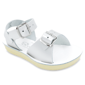 Hoy Shoes Shoes 3 / Silver Sun San Silver Surfer Sandals by Hoy Shoes