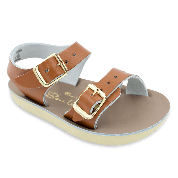 Hoy Shoes Shoes 2 / Tan Sun San Tan Sea Wee Sandals by Hoy Shoes