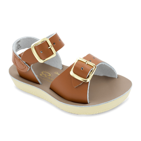 Hoy Shoes Shoes 5 / Tan Sun San Tan Surfer Sandals by Hoy Shoes