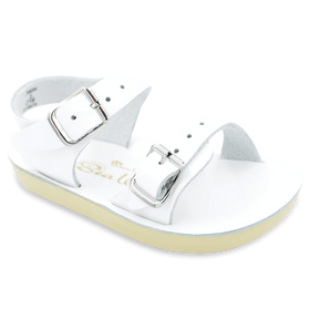 Hoy Shoes Shoes 1 / White Sun San White Sea Wee Sandals by Hoy Shoes