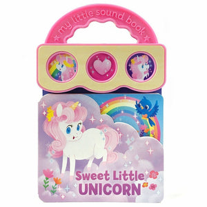 Cottage Door Press Gifts & Apparel Sweet Little Unicorn Children's 3 Button Sound Book