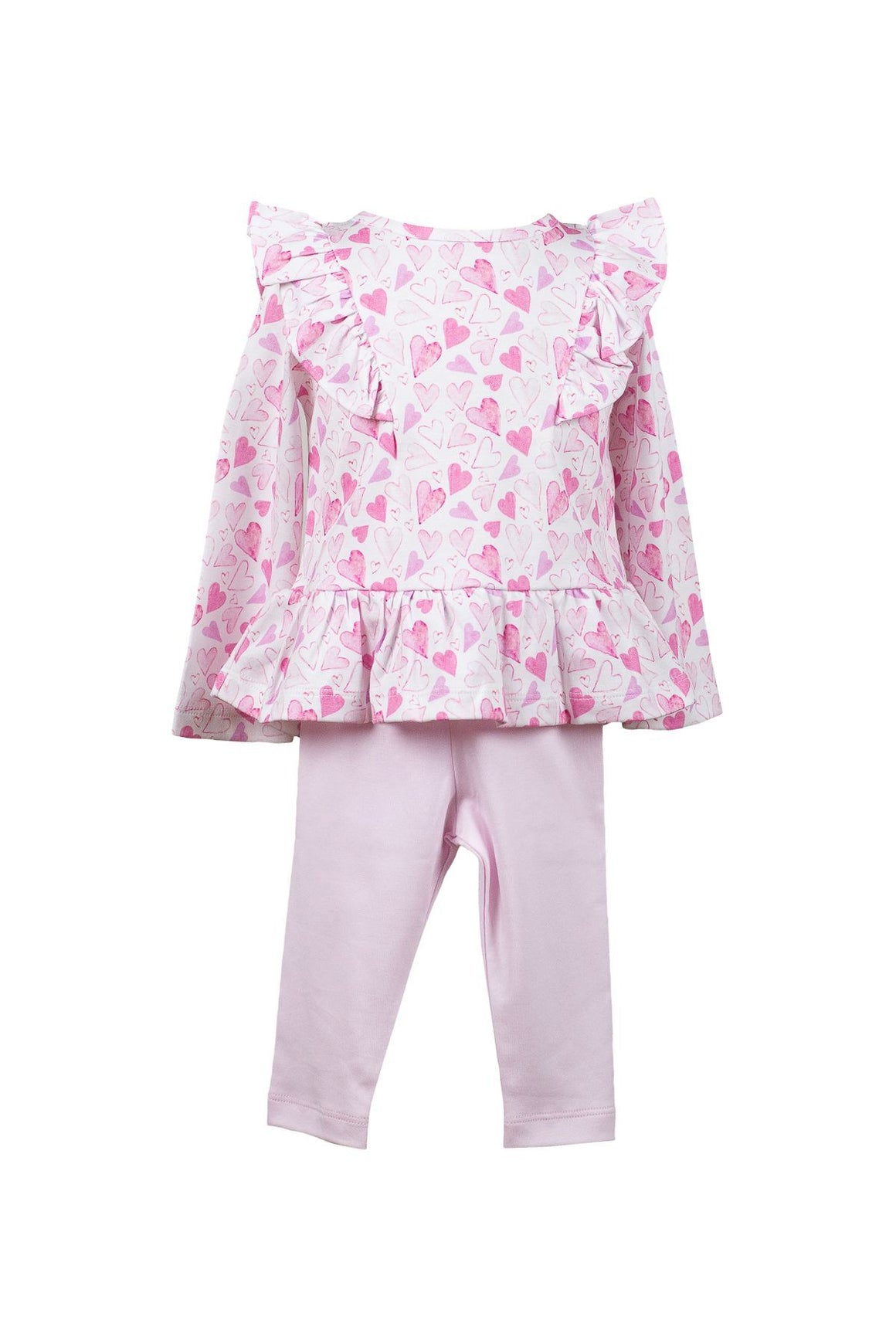 The Proper Peony Apparel The Proper Peony Parkside Collection Hadley Heart Tunic Set