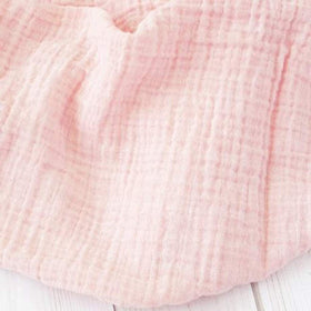 The Sugar House Gifts & Apparel The Sugar House Classic Muslin Swaddle Blanket Shell Pink