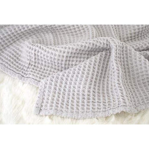 The Sugar House Gifts & Apparel The Sugar House Cloud Blanket- Light Grey